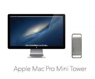 Functional Mac Pro Mini Tower: 3-D Print