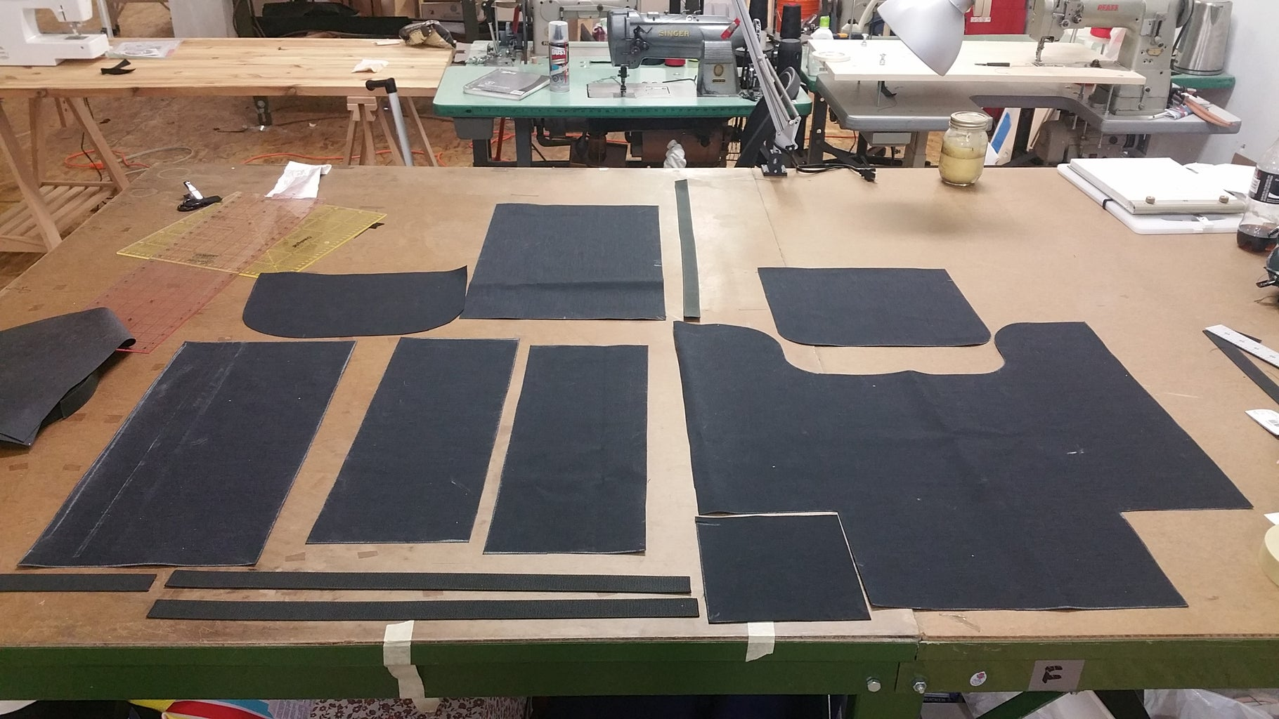 Cutting Fabric and Extra Pieces