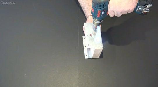 Step 3: Bracket and Metal Mending Plate
