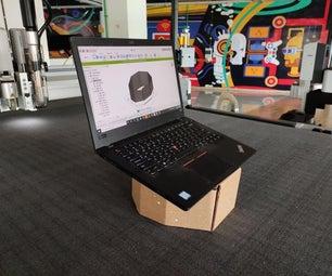 Designing Folded Cardboard  Furniture Using Fusion 360