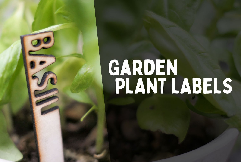 3D Garden Plant Labels