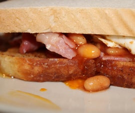 Kiss Principle English Breakfast Sandwich