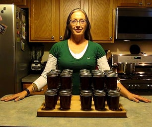 Apple Butter and Orange Marmalade