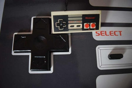 (Another) Working Giant NES USB Contoller for Big and Little Players. in Metric System!