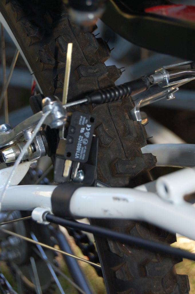 Mounting the Brake Light Switch