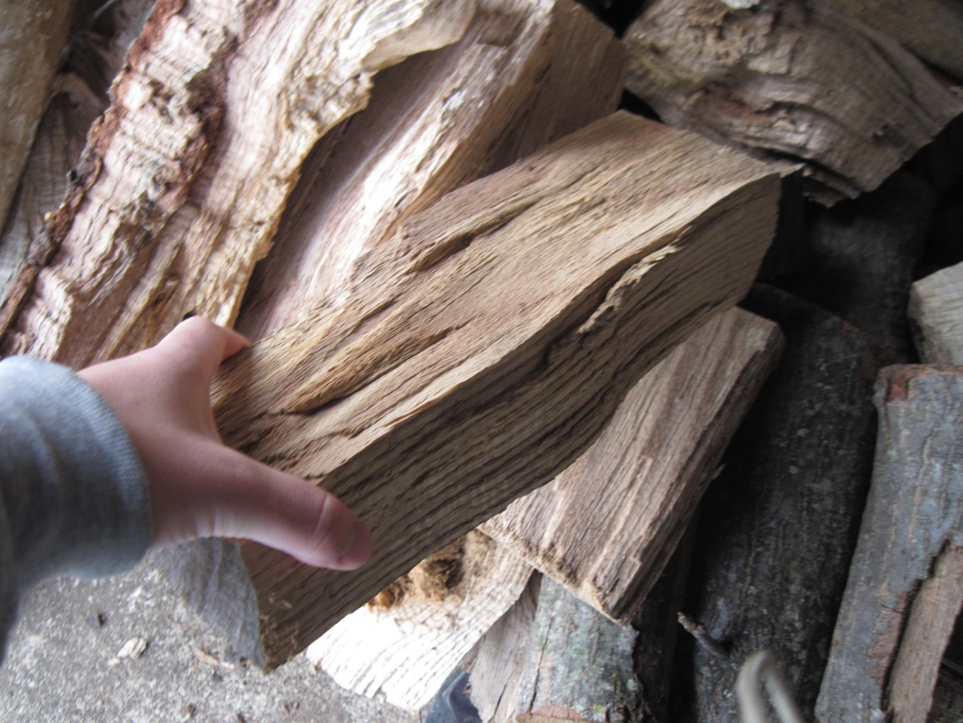 Gather Materials and Wood