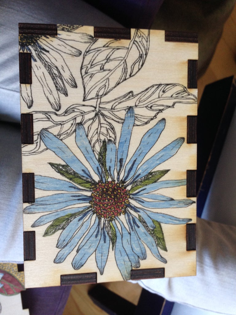 Ink Drawing Embellishment
