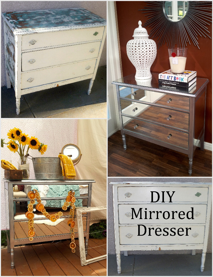 Diy Mirrored Dresser 7 Steps With Pictures Instructables