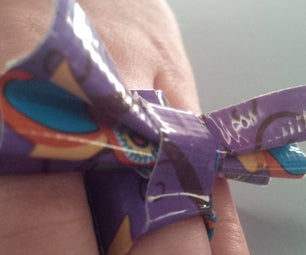 Duct Tape Bow Ring