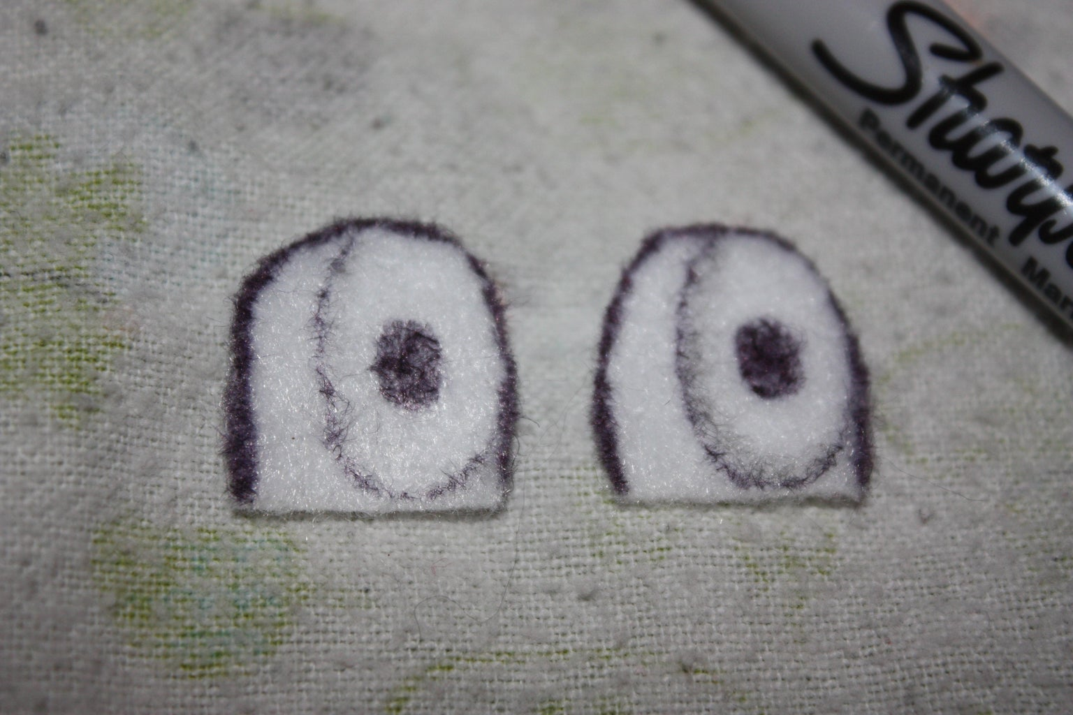 Step 5: Eyes and Nose