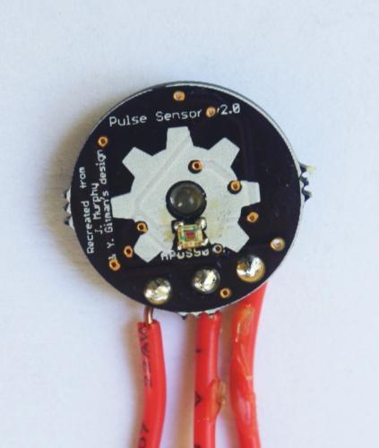 Homemade Arduino Friendly Pulse Sensor