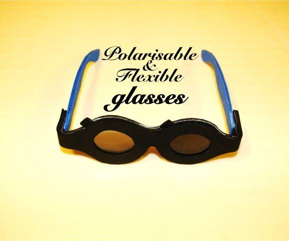 Polarisable & Flexible glasses