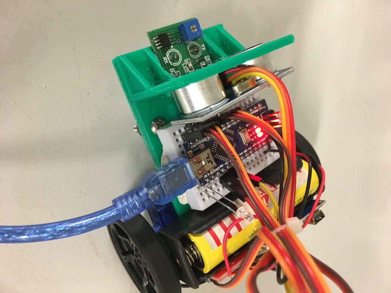 Code, Arduino Nano and Circuitry