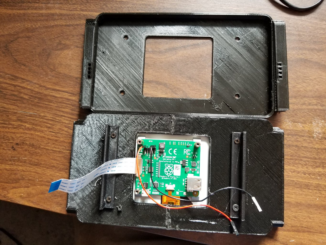 Adding the Screen and Finshing Assembly