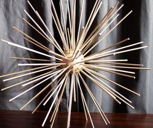 Sputnik Scultpure
