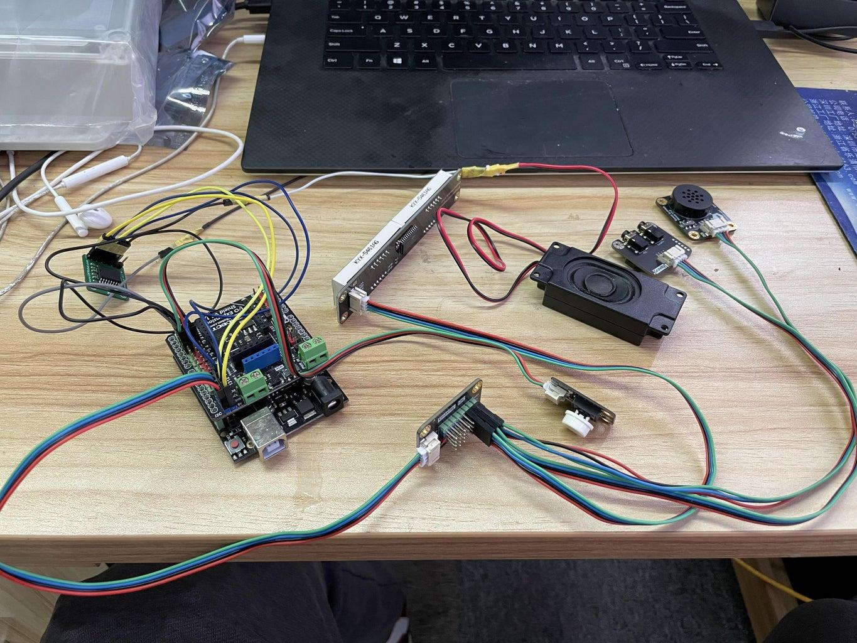 Connect Each Module As Follows