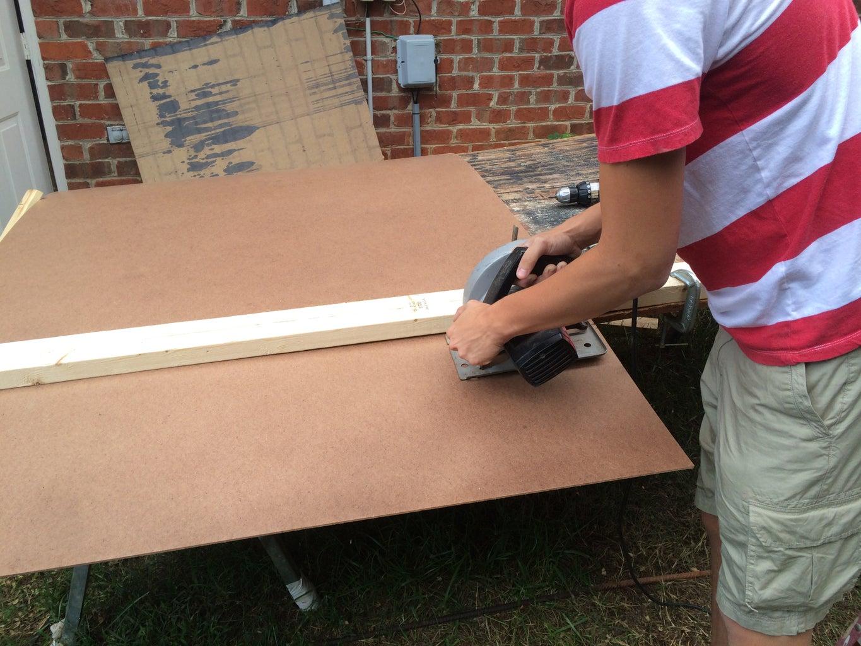 Measure & Cut Back Panel