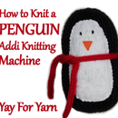 How to Knit a Penguin on your Addi Knitting Machine