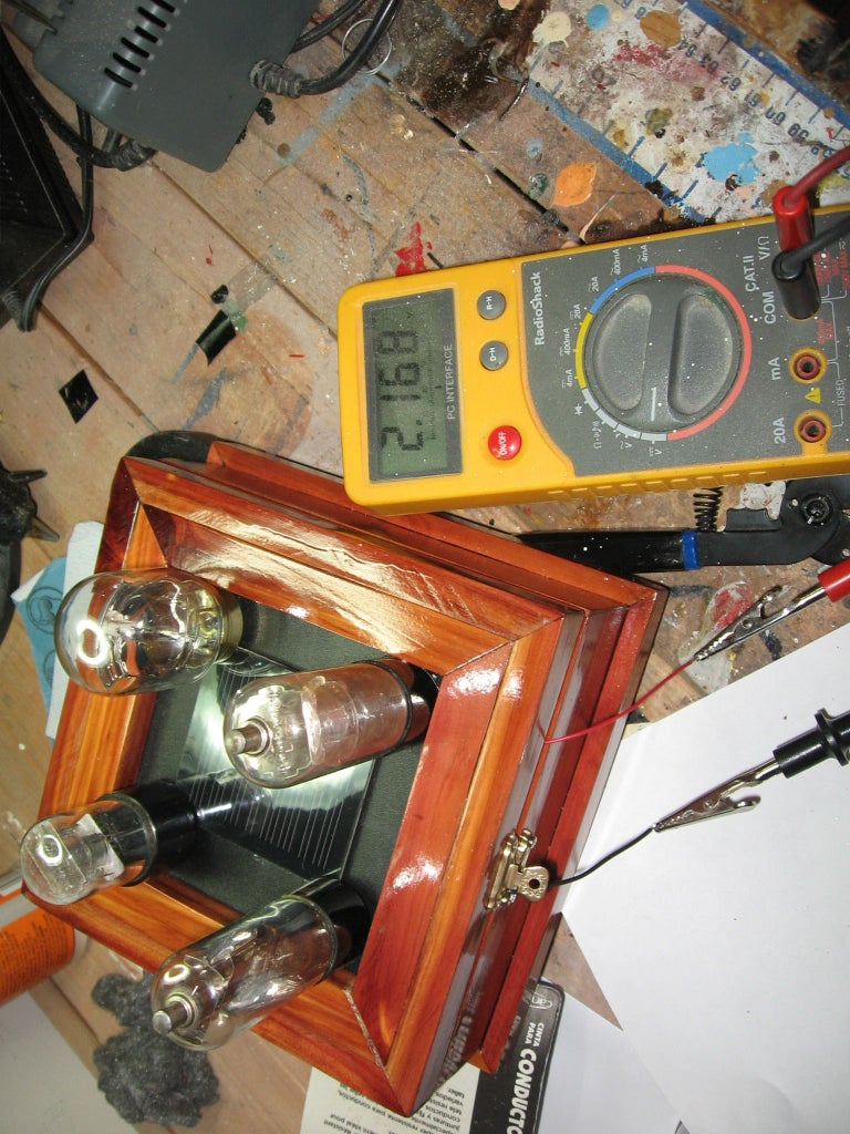 Soldering the Solar Cell and Installing the Photocell