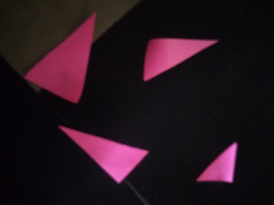 Cutting the Triangle Out