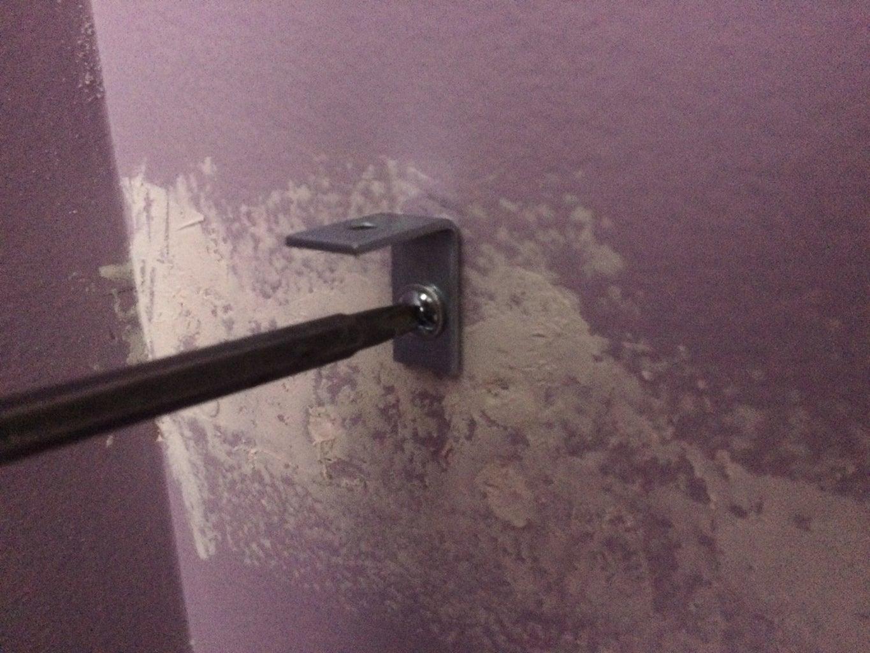 Install Shelving Brackets