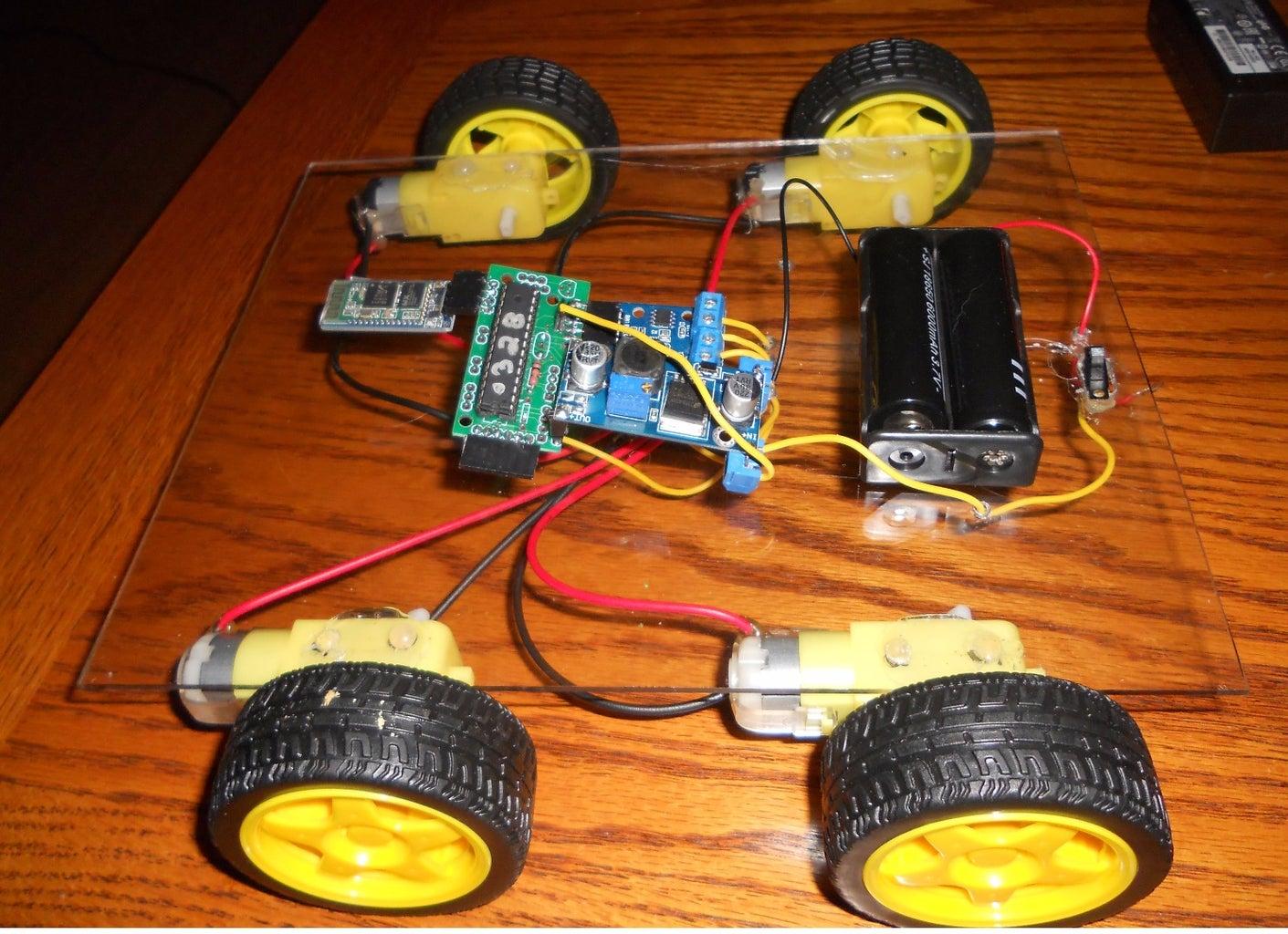 Create an RC Vehicle