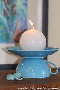 DIY Your Own Tea Cup Candle Holder...