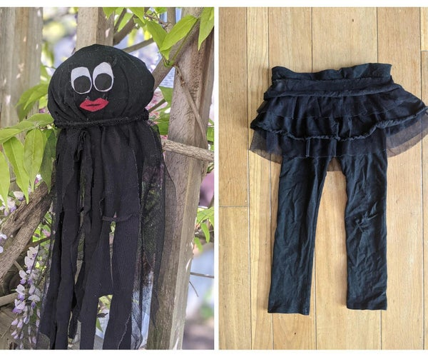 No-Sew Jellyfish Plushie Out Of...Tutu Leggings