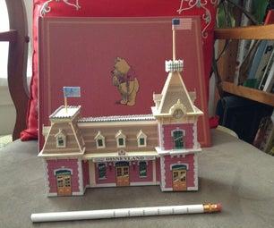 Paper Pub: Disneyland Main Street Station 1/4 HO Scale