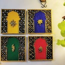 DIY Cardboard Wall Hanging