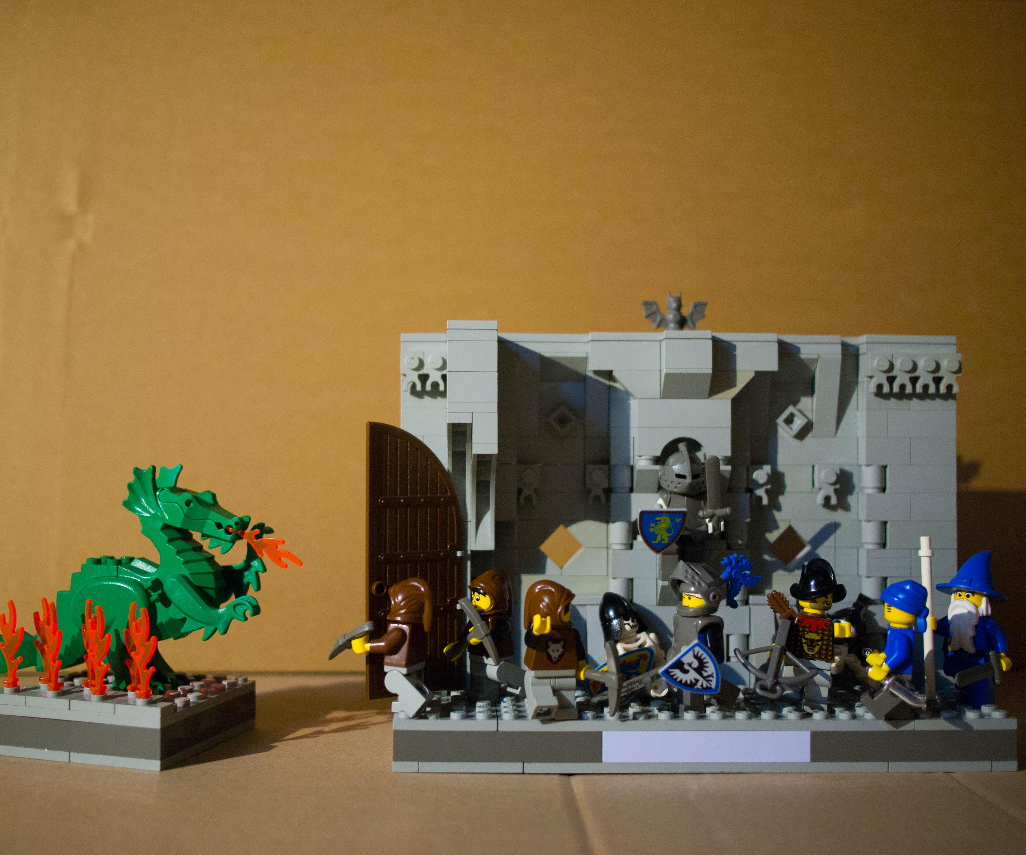 LEGO Dungeon Diorama