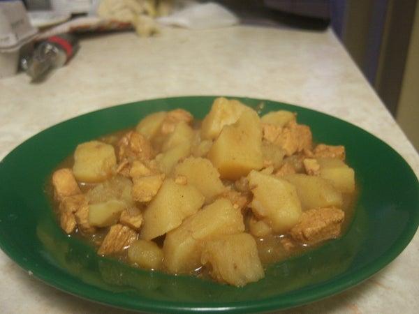 Curried Potato Chicken