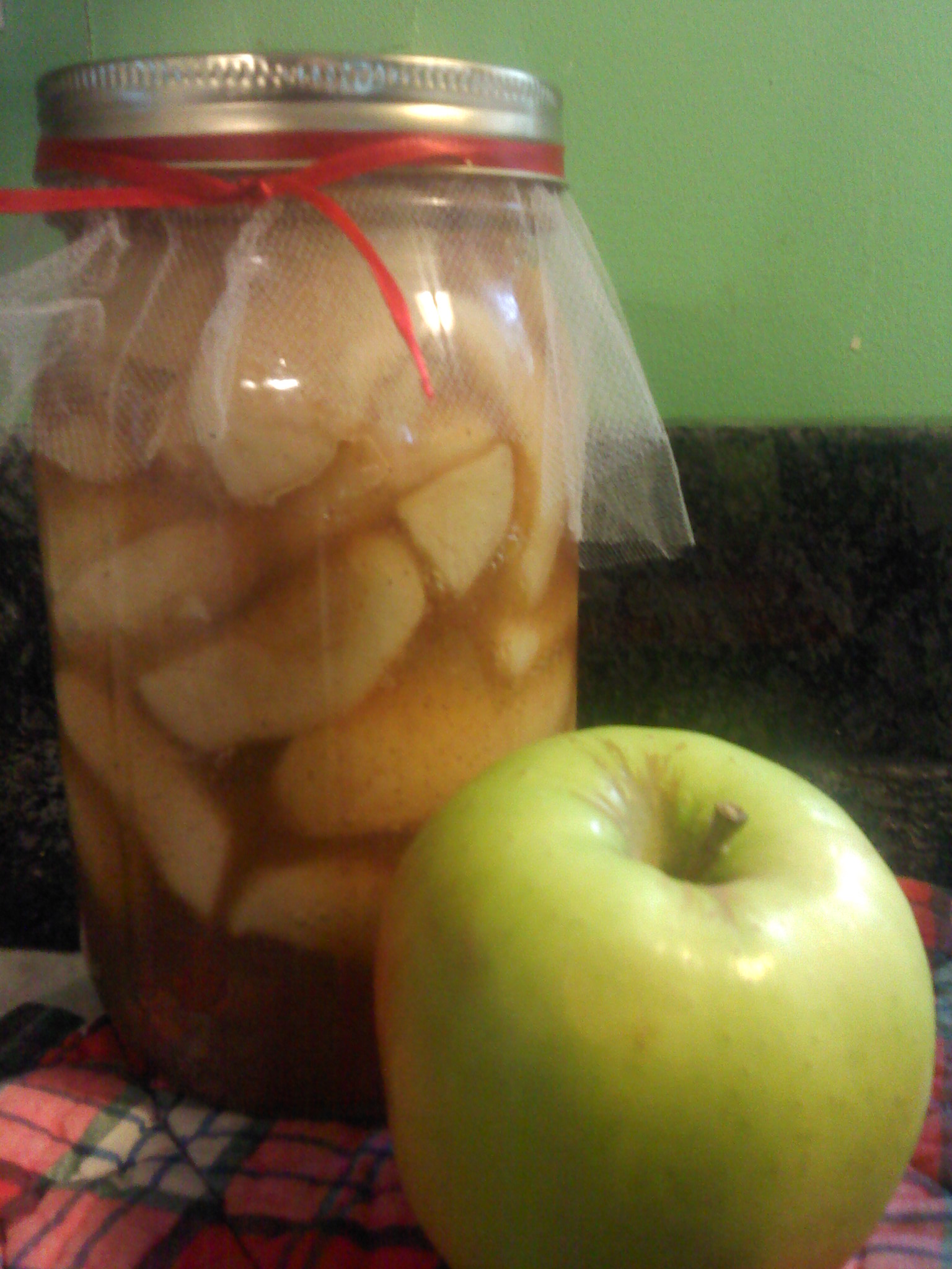 Apple Pie Filling (canning recipe)