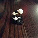 Lego Black and White Striped Snake