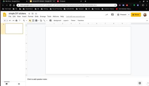 Open a Blank Document