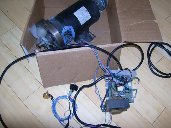 Use a Treadmill DC Drive Motor and PWM Speed Controller for powering tools