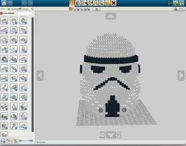 Lego StormTropper Helmet From Star Wars!