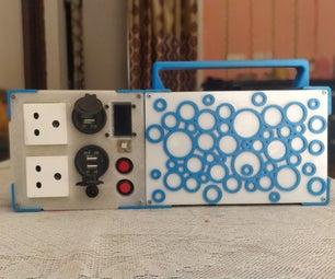 使用笔记本电脑18650 DIY电源