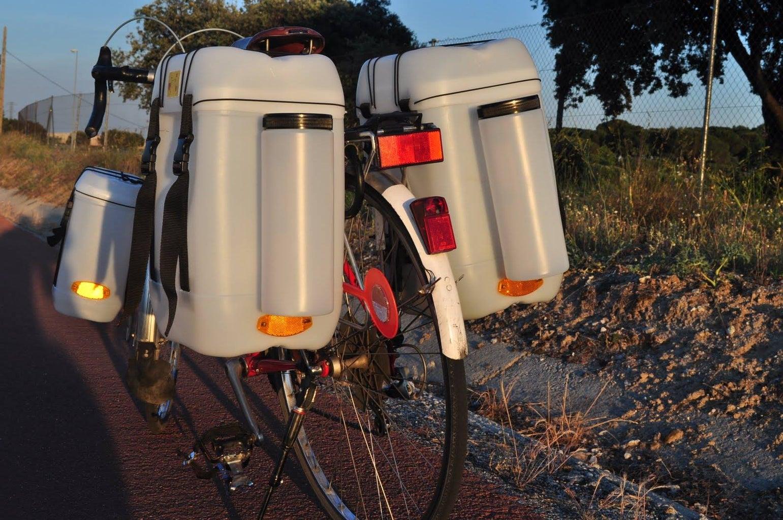 Pvc Bike Luggage Bag