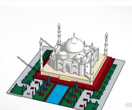 Taj Mahal - the Monument of Love
