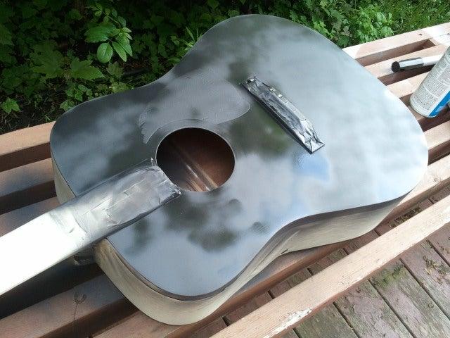 Paint An Acoustic Guitar 5 Steps Instructables