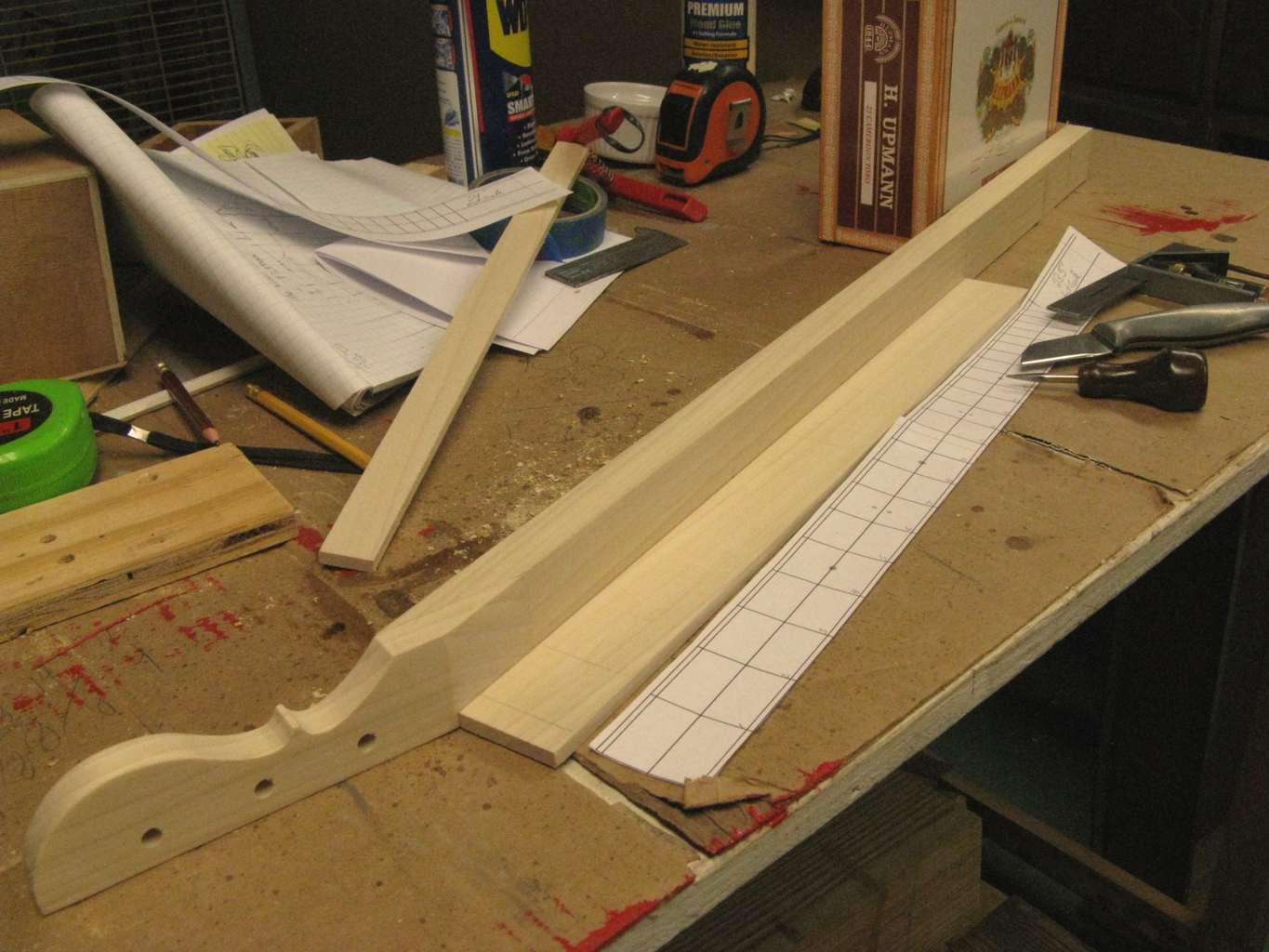 Headstock and Neck