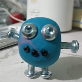DIY Tutorial - Cute Robots Made by Soft Clay!