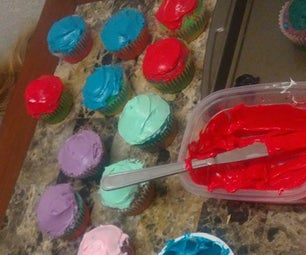 Equality Cupcakes: Baking and Frosting