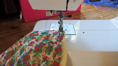 Step 3- Join the Fabrics Together