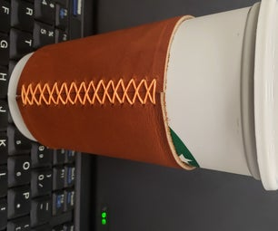 Upgraded Leather Coffee Cup Sleeve, With No Special Tools