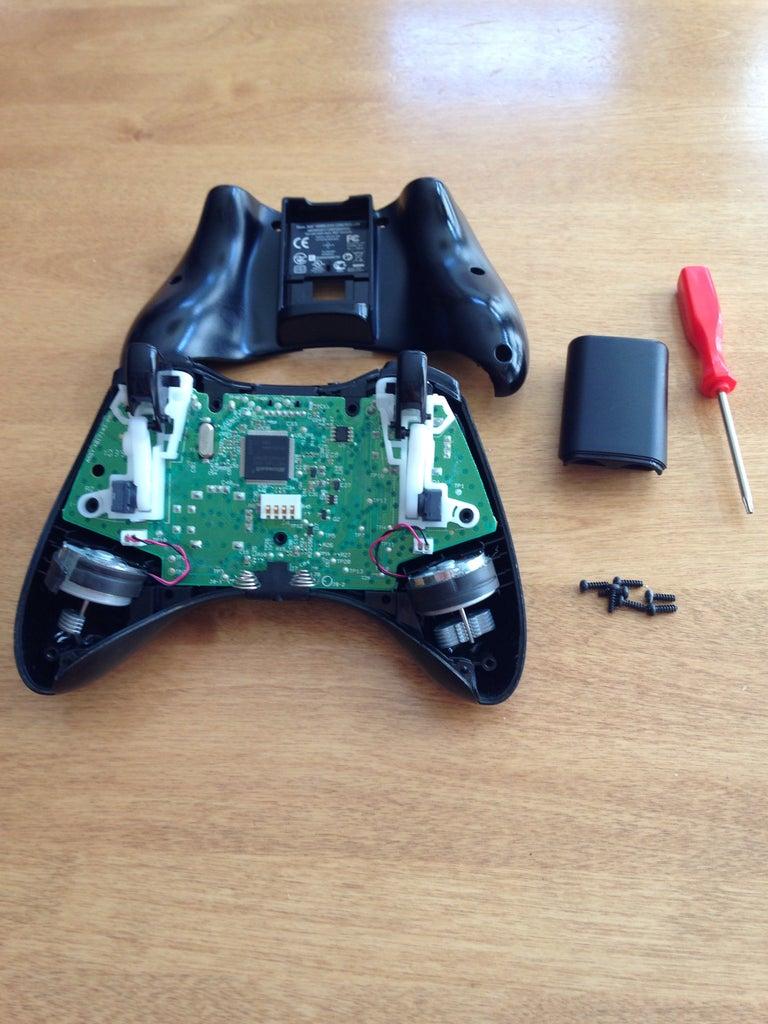 Crack Open the Controller