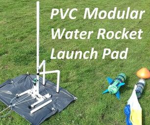 PVC水火箭模块化发射垫与Gardena连接器
