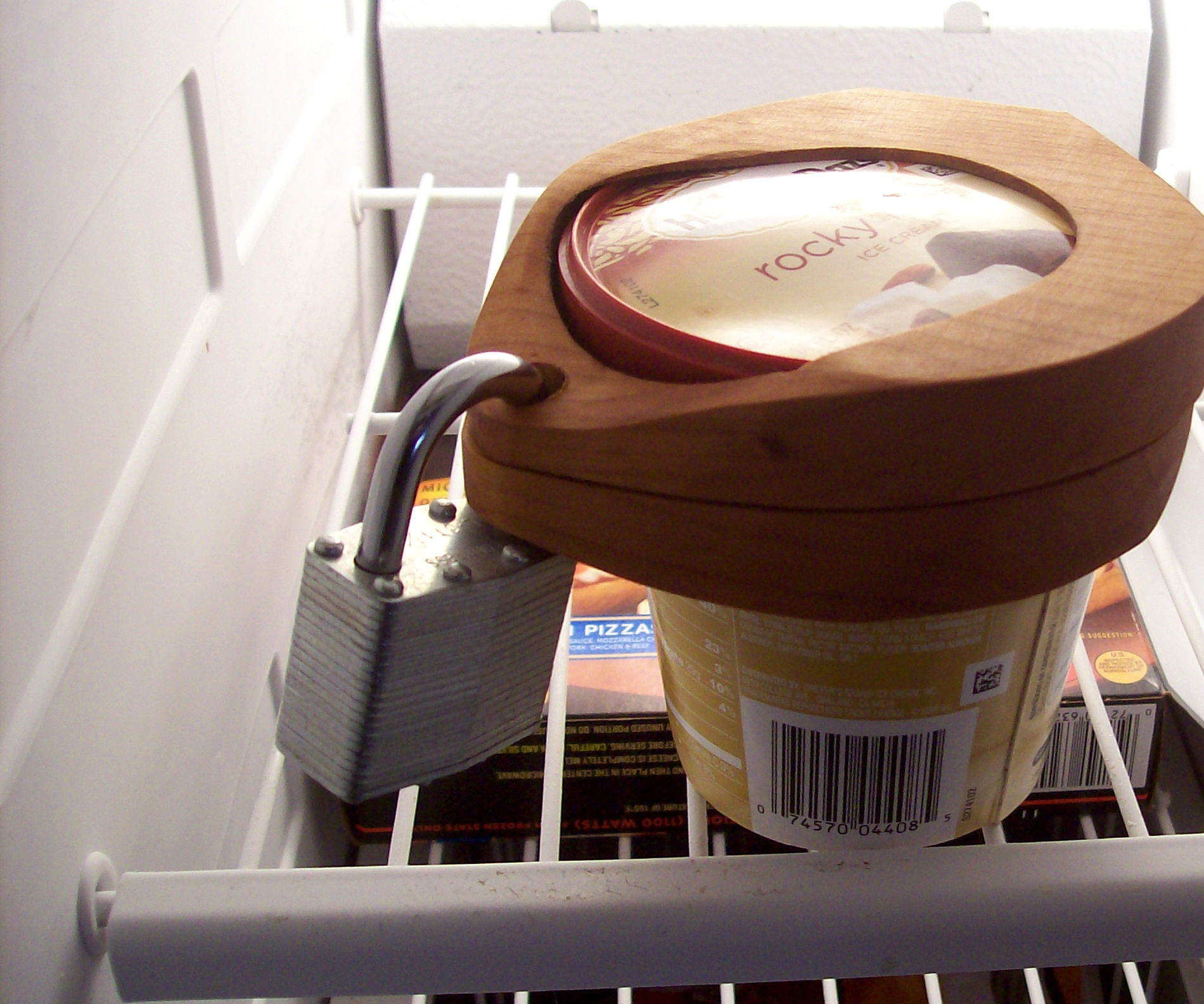 Ice Cream Pint Lock
