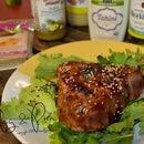 Seared Yellowfin Tuna Salad